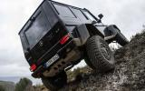 Mercedes-Benz G 500 doing some serious off-roading