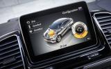 Mercedes-Benz GLE Coupé infotainment system