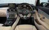 Mercedes-Benz GLC 220 d dashboard