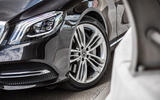 Mercedes-Benz S400d 4Matic alloy wheels