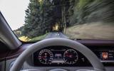 Mercedes-Benz S400d 4Matic head-up display