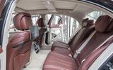 Mercedes-Benz S400d 4Matic rear seats