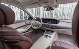 Mercedes-Benz S400d 4Matic dashboard