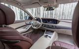 Mercedes-Benz S400d 4Matic dashboard