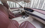 Mercedes-Benz S400d 4Matic interior