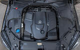 Mercedes-Benz S400d 4Matic diesel engine