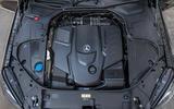 Mercedes-Benz S400d 4Matic diesel engine