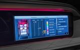 Mercedes-Benz S400d 4Matic infotainment system