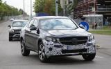Mercedes-Benz GLC Coupé spy shots