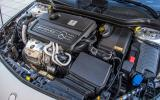 2.0-litre Mercedes-AMG CLA 45 engine