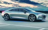 Mercedes-Benz EQS render