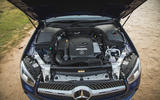 Merc GLC 300e engine