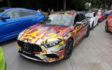 Mercedes-AMG A45 S start line