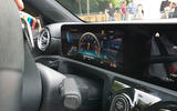 Mercedes-AMG A45 S drift mode dashboard