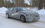 Mercedes-AMG C53 spy images - front