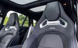 Mercedes-AMG E63 S Estate bucket seats