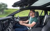 Dan Prosser driving the Mercedes-AMG E63 S Estate