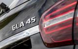 Mercedes-AMG GLA 45 badging