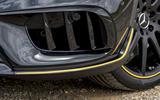 Mercedes-AMG GLA 45 front diffuser