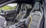Mercedes-AMG GLA 45 performance seats