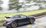 Mercedes-AMG GLA 45 rear cornering