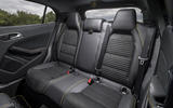 Mercedes-AMG GLA 45 rear seats