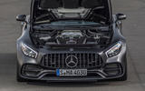 4.0-litre V8 Mercedes-AMG GT C engine
