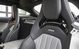 Mercedes-AMG GT C bucket seats
