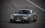 Mercedes-AMG GT C cornering