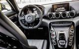 Mercedes-AMG GT C dashboard