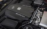 Mercedes-AMG GT C engine bay