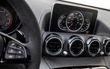 Mercedes-AMG GT C infotainment system