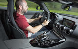 Driving the Mercedes-AMG GT C
