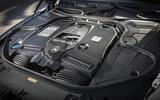 4.0-litre V8 Mercedes-AMG S63 Cabriolet petrol engine