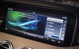 Mercedes-AMG S63 Cabriolet infotainment system