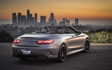 Mercedes-AMG S63 Cabriolet roof down