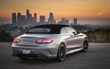 Mercedes-AMG S63 Cabriolet roof up