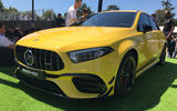 Mercedes-AMG A45 S at Goodwood 2019 - front