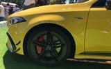 Mercedes-AMG A45 S at Goodwood 2019 - alloy wheels