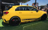 Mercedes-AMG A45 S at Goodwood 2019 - side