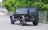 Mercedes-AMG G 63 4x4² spyshot rear side
