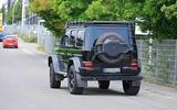 Mercedes-AMG G 63 4x4² spyshot rear