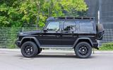Mercedes-AMG G 63 4x4² spyshot side on