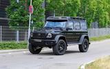 Mercedes-AMG G 63 4x4² spyshot front 3/4