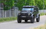 Mercedes-AMG G 63 4x4² spyshot front