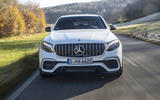 Mercedes-AMG GLC 63 S Coupé on the road