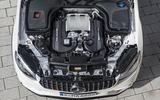 4.0-litre V8 Mercedes-AMG GLC 63 S Coupé engine