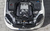 4.0-litre V8 Mercedes-AMG GLC 63 S Coupé engine