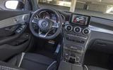 Mercedes-AMG GLC 63 S Coupé dashboard