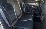Mercedes-AMG GLC 63 S Coupé rear seats